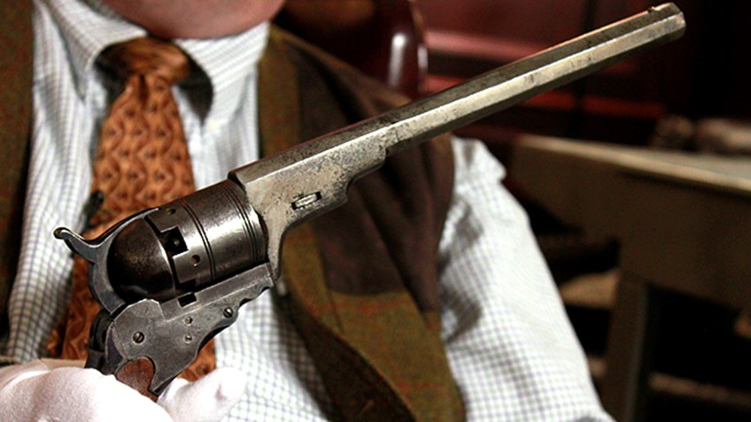 Fake Colt Paterson kept under wraps at the NRA National Firearms Museum