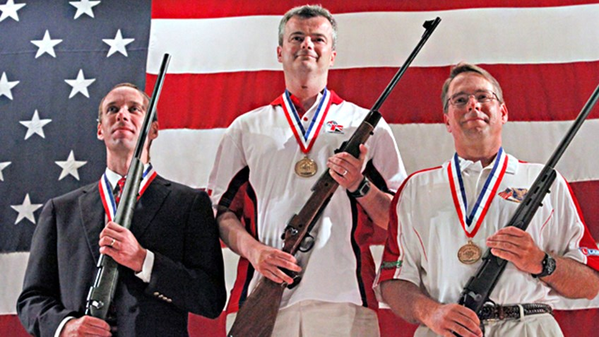 A winning night for David Luckman at NRA Rifle