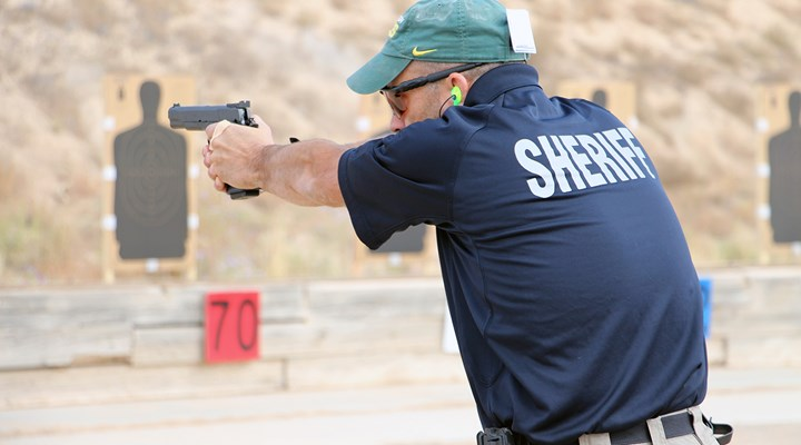 Shots From The National Police Shooting Championships