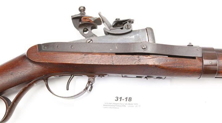 Gun of the Day: Hall Model 1819 Breechloading Rifle